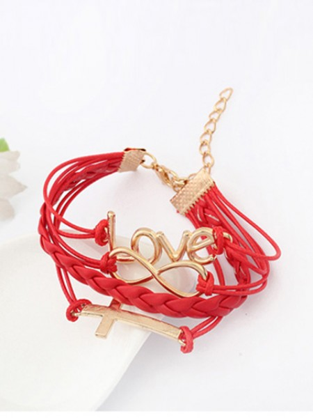 Korean version Romantic Password love Cross Hete verkoop Armbanden